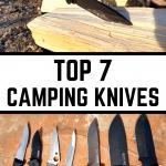 Top 7 camping knives pin