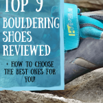 Top 9 bouldering shoes pin