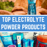Top electrolyte powders pin